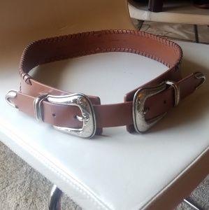 Rebecca Minkoff leather belt sz medium